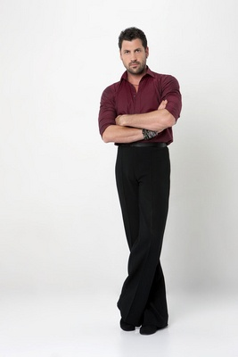 Maks from the DWTS cast photo shoot.