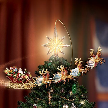 Thomas Kinkade Christmas Tree Topper