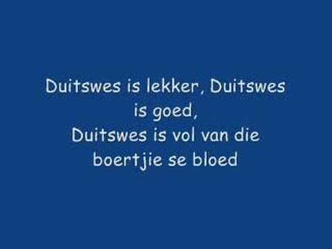 Afrikaans songs collection