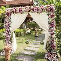 Свадебные арки, стол жениха и невесты : Коллекция идей на Невеста.info