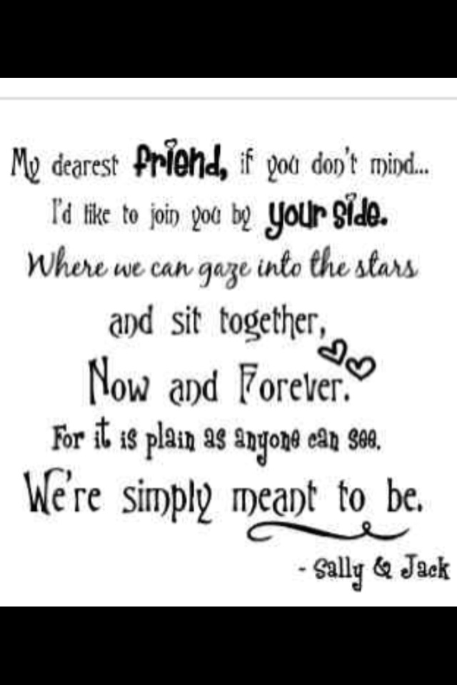 Jack and Sally Quote :) |