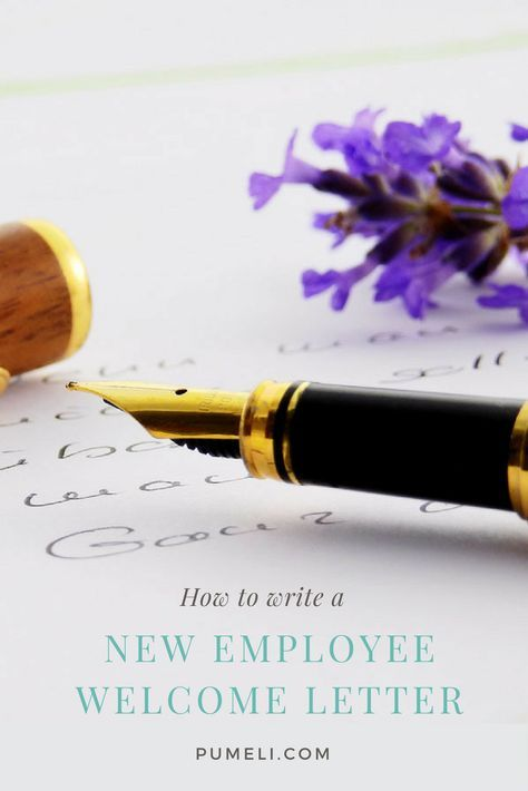 How To Write A Welcome Letter To New Employee Company Welcome