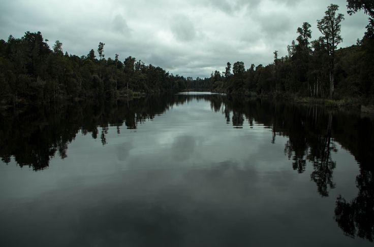 Arnold River, Lake Brunner, West Coast, South Island.