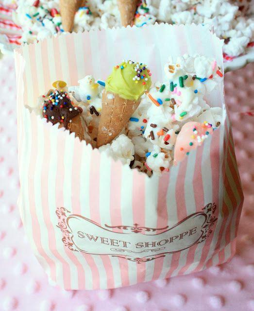 Sweet and Salty Ice Cream Snack Recipe