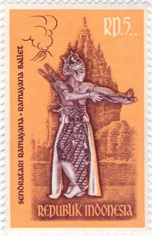 Indonesia - Ramayana ballet dancer as Rama