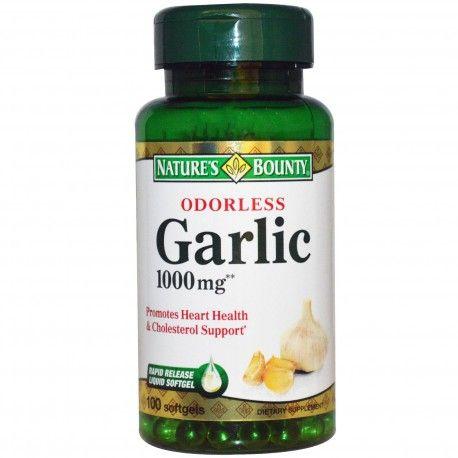 Nature's Bounty, Odorless Garlic, 1000 mg, 100 Softgels ... VOLUME DISCOUNT