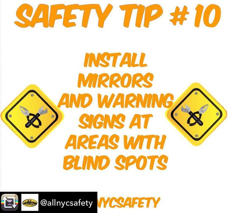Repost from @allnycsafety using @RepostRegramApp - Installing safety mirrors such as convex mirrors is an effective and affordable way to prevent dangerous collisions in the workplace.  #construction #constructionsite #constructionworker #tip #constructionzone #tips #hazard #work #environment #constructionlife #sitesafety #supervisor #safety #construccion #safetyfirst #safetytips #tip #osha #startup #startups #builder #smallbiz #southafrica #training #safe #localbusiness #smallbusiness…