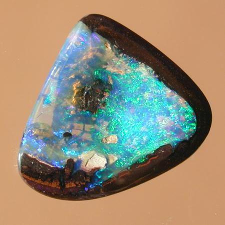 Yowah Nut Australian Opal with crystal opal centre