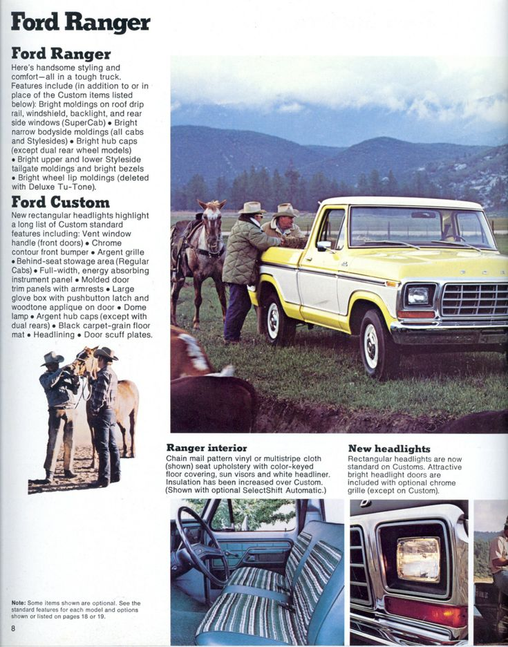 1979 ranger: My brother had a '78 4x4. I loved these old Ford trucks.