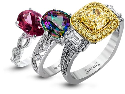 Simon G Jewelry can help personalize your engagement ring - from how the stones are set to how the band is designed - in a way that brings it to life unlike any other in the world.