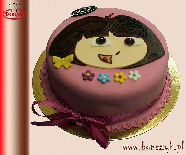 #Dora, #cake, #tort, #Doracake, #Doratort, www.bonczyk.pl