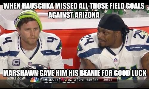 Good old Marshawn. Always ready to help a brother out