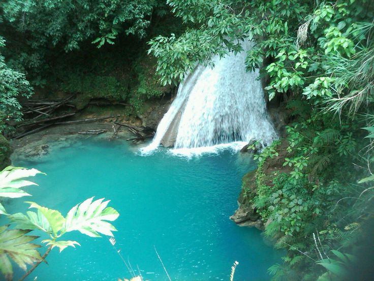 """Stop #4: Ocho Rios, Jamaica to go cliff jumping in the """"Blue Hole"""" maybe a little ganja, who knows...if we have time ;) May 10, 2012"""