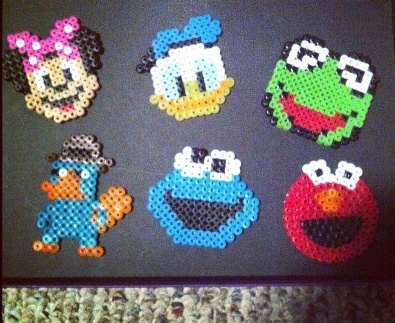 Disney perler beads   Mila   Pinterest