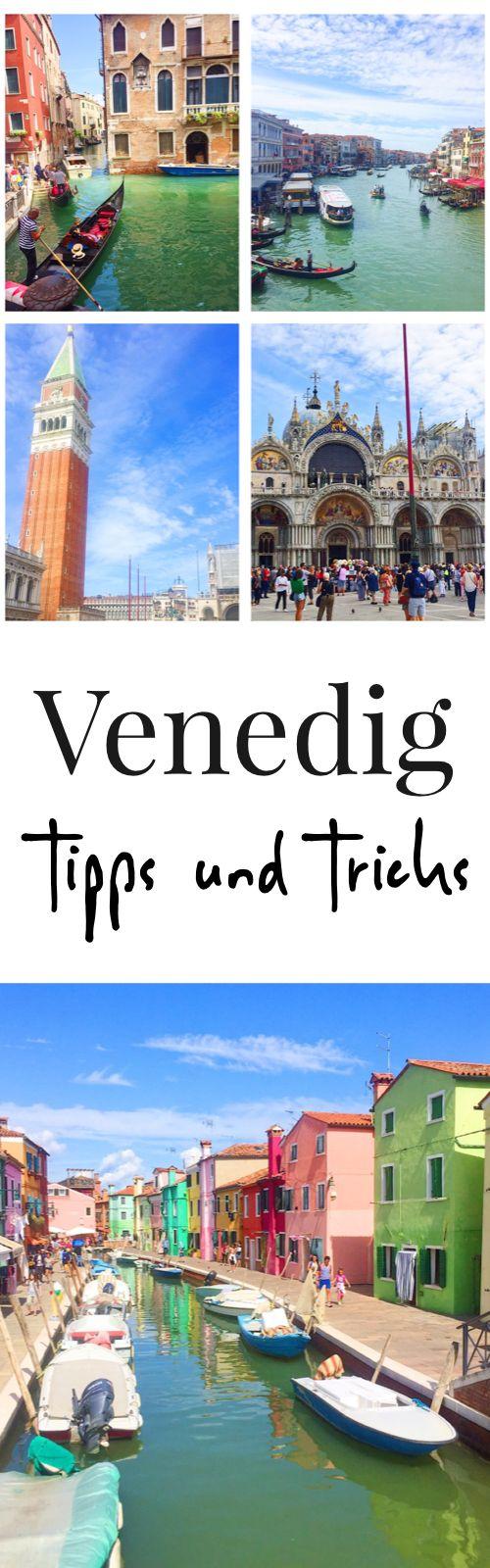 Reisetipps für Venedig in Italien. Das müsst Ihr bei einer Reise nach Venedig beachten. Tipps, Tricks und Sehenswürdigkeiten für einen Urlaub in Italien. Reisetagebuch mit tollen Bildern.