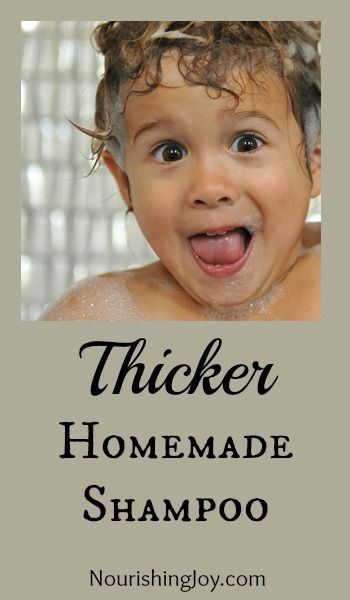 """If you are worried about the chemicals in shampoo, here is a recipe for """"Homemade Shampoo"""". Kid safe. Mother approved."""