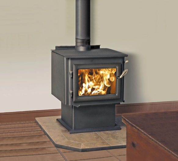 Quadrafire Millenium 3100, Solid Fuel Fireplaces