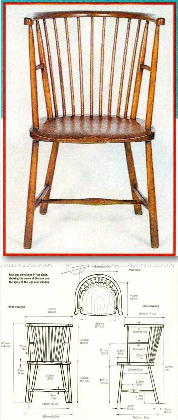 Arts And Crafts Reading Chair Plans Furniture Plans And Projects