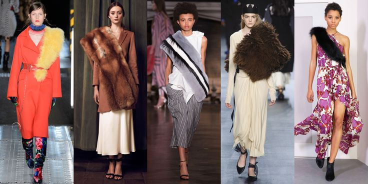 Cross Body Fur Stoles