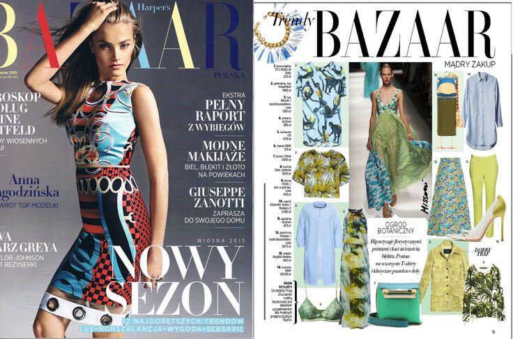 STL made in Italy in Harper's Bazaar Poland
