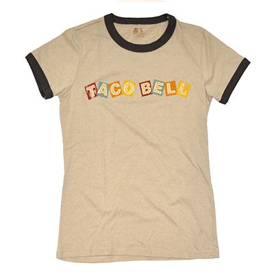 Taco Bell® Live Más Store Vintage tshirts, Womens