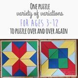 Flower Wooden Puzzle