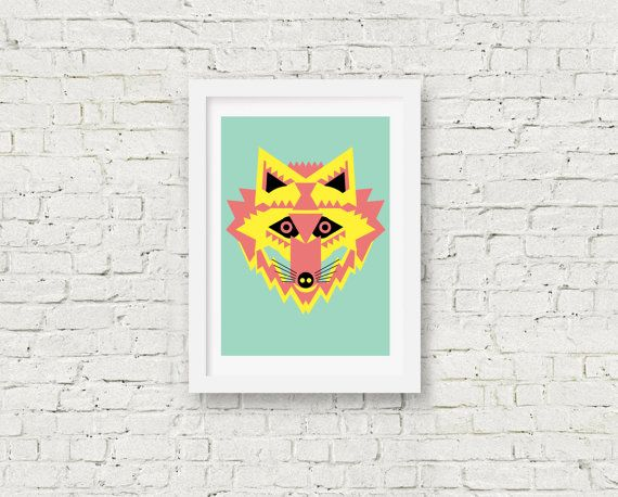 Fabulous Fox by GarethPollockArt on Etsy