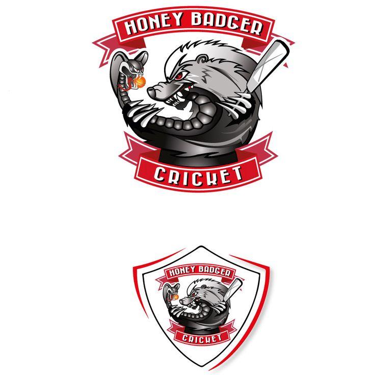 Logo Design by studiodesignitaly for Cricket bat Company #cricket #logo #design #DesignCrowd #sport