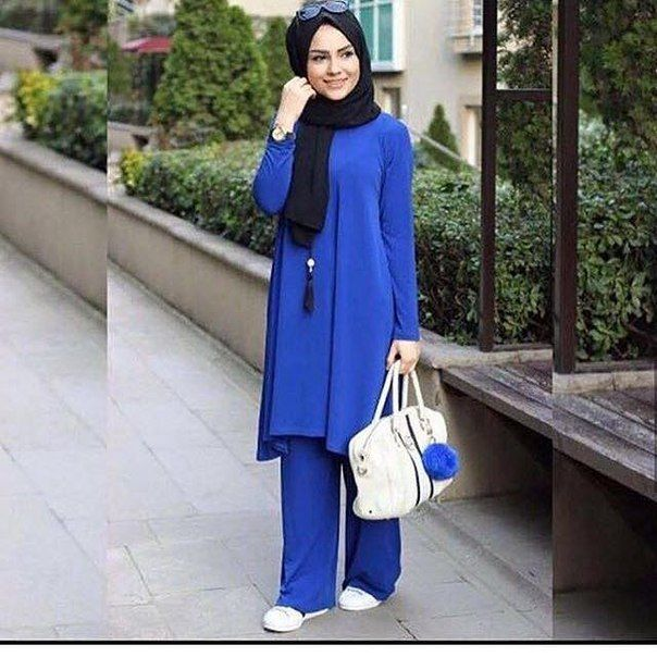 Something Blue #hijab #outfit #muslimah