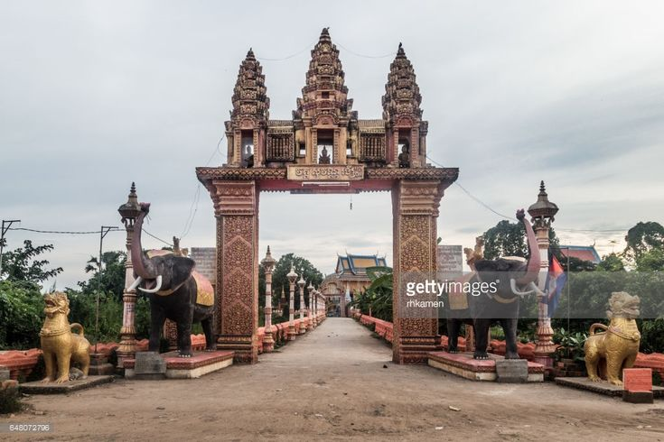 Cambodia. Kampong Cham Province, Angkor Ban Village