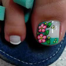 Resultado de imagen para uñas de los pies decoradas