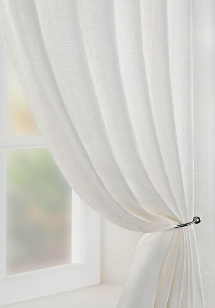 Boucle Voile Curtain Panel
