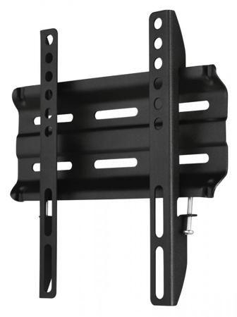 Hama H-118106 (черный)  — 770 руб. —  Hama H-118106 – настенный фиксированный кронштейн, предназначенный для установки телевизоров с жидкокристаллическими и плазменными экранами. Он легко крепится на стену и позволяет надежно разместить телевизор там, где его хочет видеть владелец. Кронштейн изготовлен из прочных современных материалов, способен выдержать значительные нагрузки, рассчитан на длительную эксплуатацию. Монтаж кронштейна на стену можно выполнить самостоятельно, необходимые для…