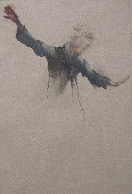 my favourite painter Nathan Ford. 'The Performer' Oil on Canvas 20 x 28 cm.