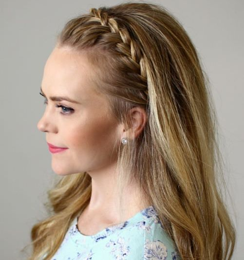 nice 20 Different Braided Head Band Hairstyles