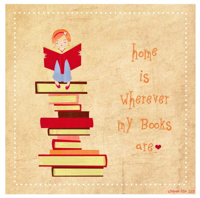 Home Is Where My Books Are :-)