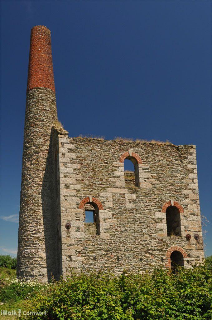 West Chyverton Mine, near Callestick, Cornwall