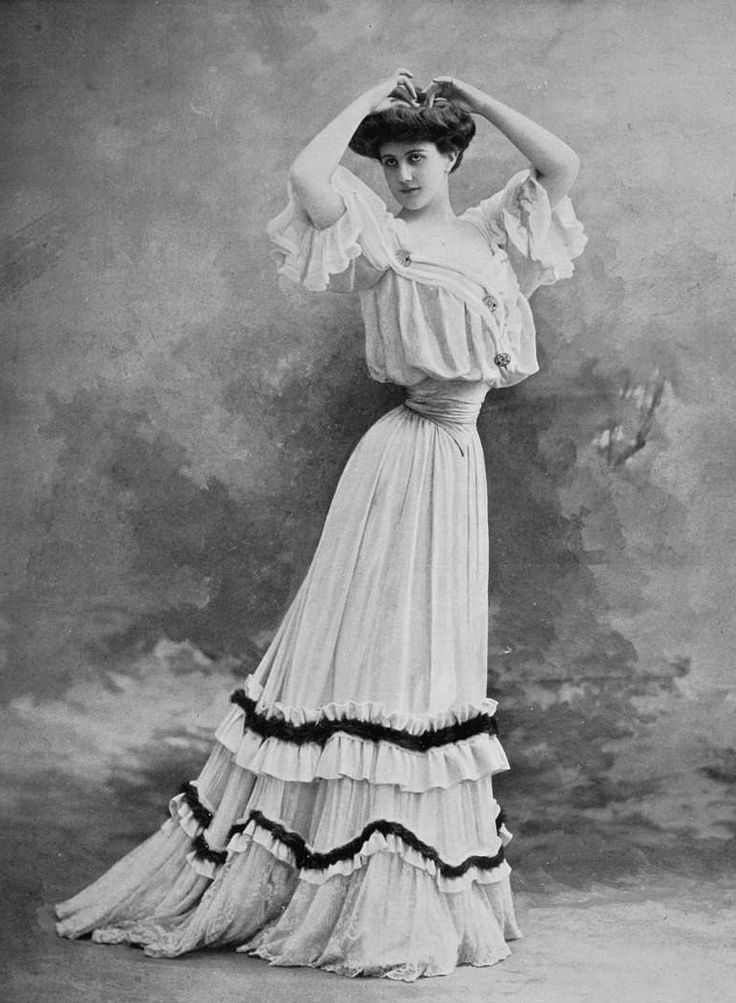 Edwardian Fashion 1904