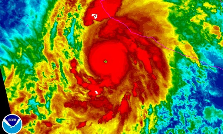 Storm became a Category 5 hurricane, the highest rating possible, overnight and 'the winds are enough to get a plane in the air and keep it flying'