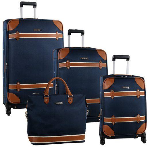 42 best 4 Piece Luggage Sets images on Pinterest   Luggage sets ...