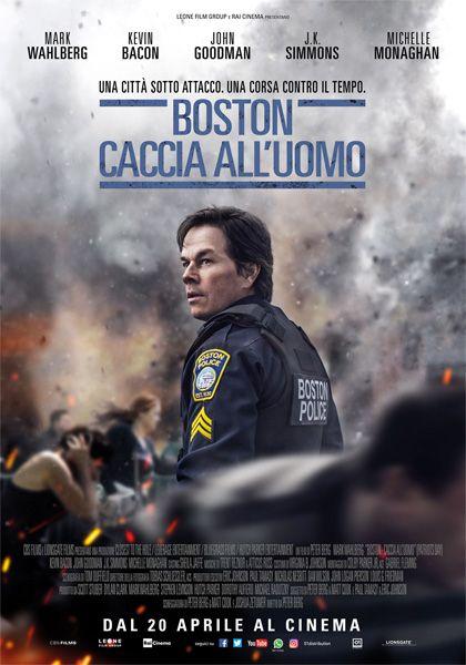 Boston - Caccia all'uomo (Patriots Day) di Peter Berg. Film Drammatico, USA, 2016. Cinema coerente dietro al fragore delle bombe, dinamico e dall'energia cinetica.