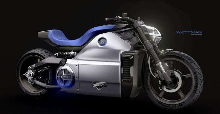 Curiosos No Mundo: Wattman a moto elétrica mais potente da Voxan