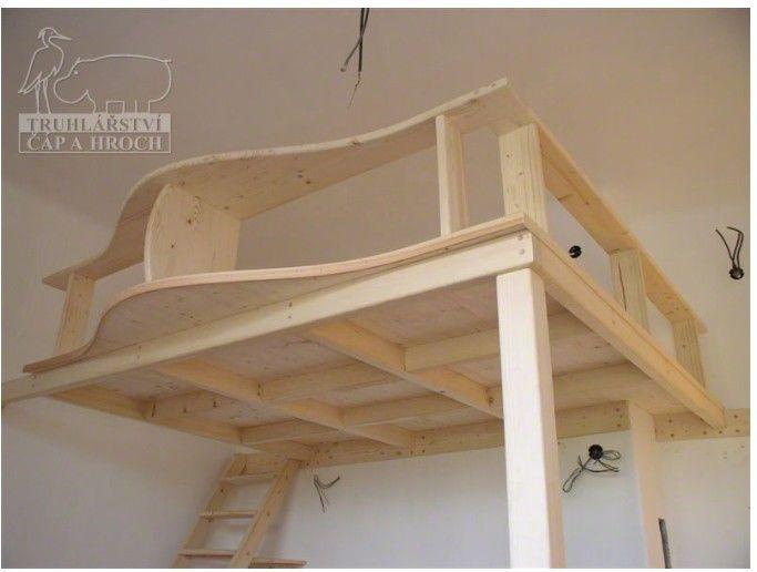 patrová postel, loft bed