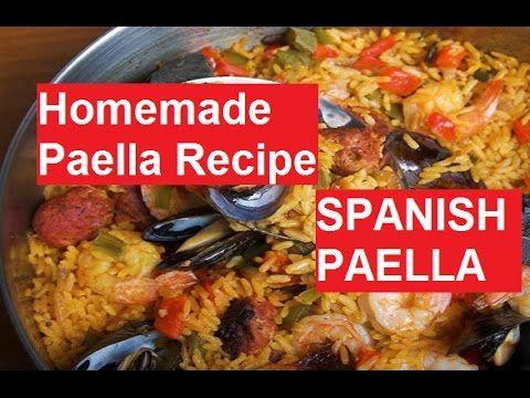 How to Make Authentic Paella Mixta
