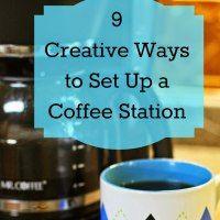 9 creative ways to set up a coffee station creative for How to set up a coffee station