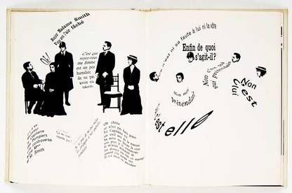 FRANCE - Robert Massin - Eugène Ionesco – La Cantatrice Chauve – Dessin et typographie – Éditions Gallimard (1964)