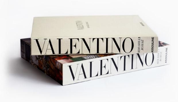 luxury books - Valentino