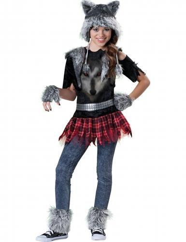 #Costume completo da lupo bambina  ad Euro 59.99 in #Kelkoo #Maschere e costumi