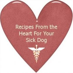 I know you are just like me...you love your dog and can not stand to see him or her get sick!  Cooking is a way to a man's heart and as man's...
