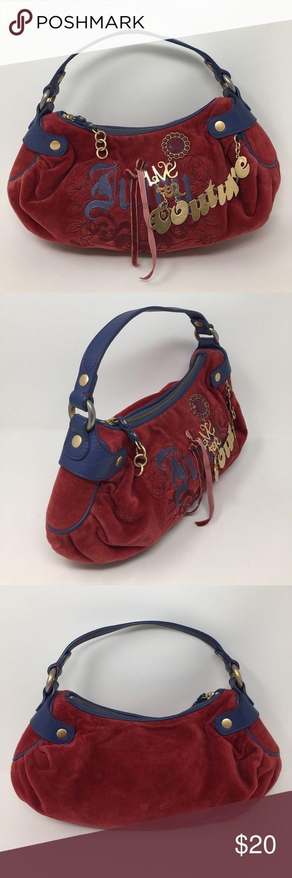 Vintage Juicy Couture Hobo Shoulder Bag 100% Authentic Juicy Couture, Vintage. Please see pictures for details. Bundle and save! Juicy Couture Bags Hobos